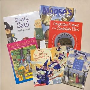 Children's softcover book lot